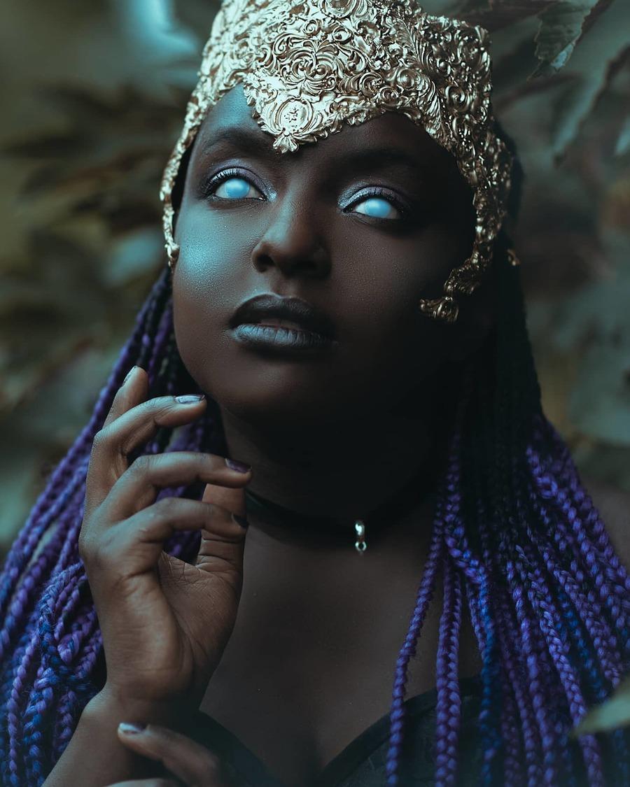 Gothic goddess / Model Chanice2019 / Uploaded 6th July 2020 @ 08:31 AM