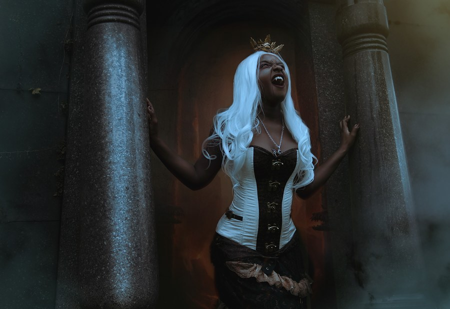 Vampire Halloween shoot / Model Chanice2019 / Uploaded 3rd November 2020 @ 07:06 AM
