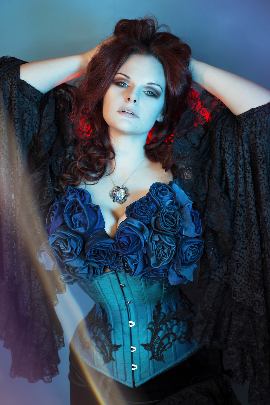 Photography by EarlGreyHot, Model EvieWolfe, Designer Valkyrie Corsets / Uploaded 2nd September 2019 @ 02:59 PM