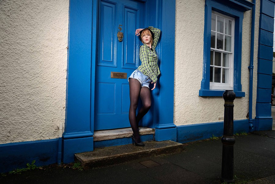 Blue Door / Photography by The Pix Factory, Model Amie Boulton, Makeup by Heather Akerman MUA / Uploaded 11th February 2016 @ 04:03 PM
