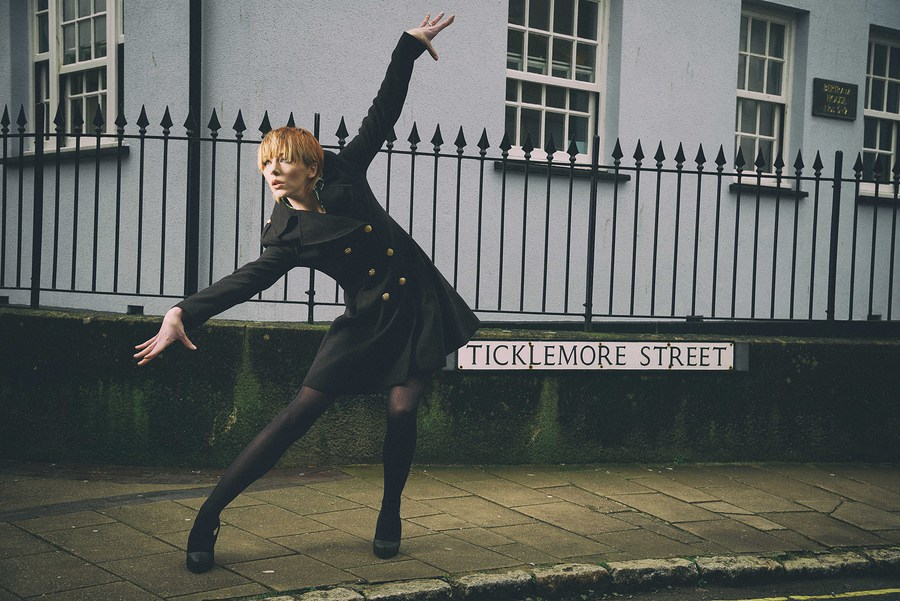 Ticklemore Street 2 / Photography by The Pix Factory, Model Amie Boulton, Makeup by Heather Akerman MUA, Stylist Amie Boulton / Uploaded 24th April 2016 @ 03:16 PM