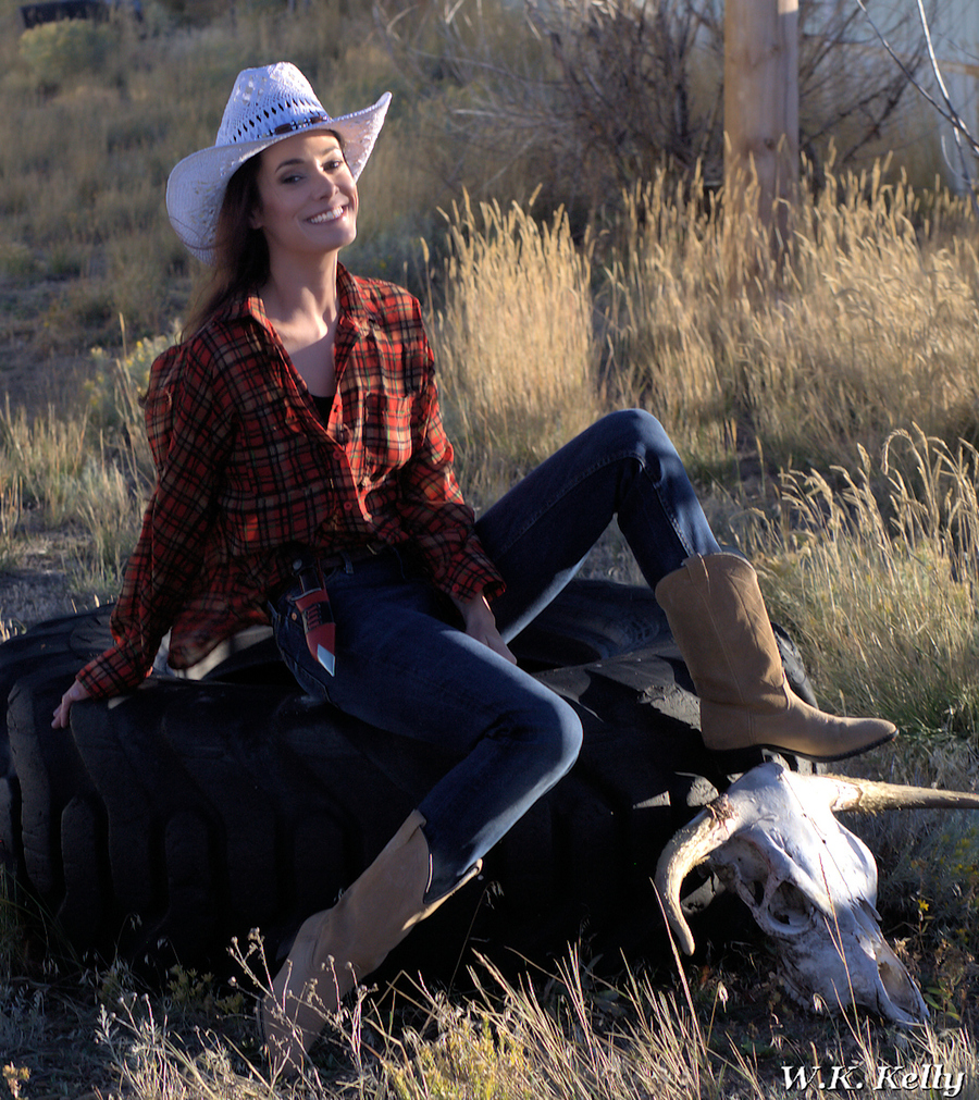 Cowgirl Brennan / Photography by Python Photos / Uploaded 6th February 2019 @ 06:14 PM