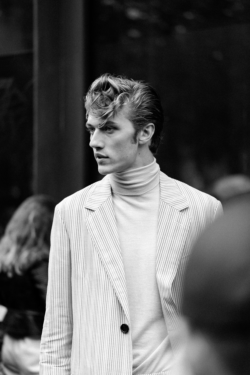 Paris Fashion Week- Lucky Smith- Lanvin / Photography by SOSPhotos / Uploaded 23rd February 2020 @ 04:38 PM