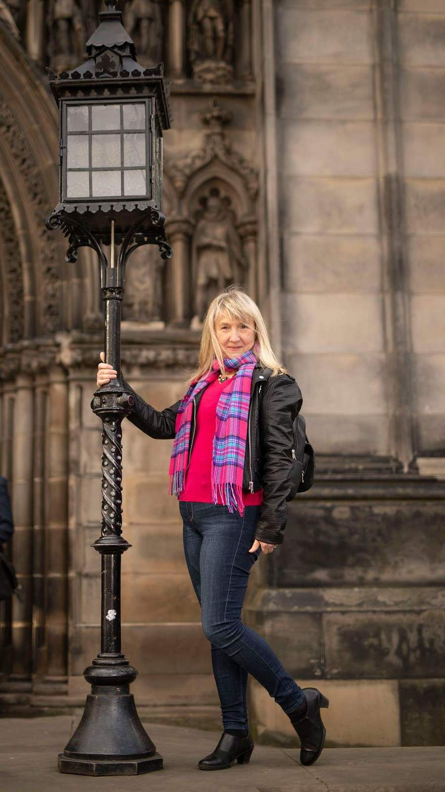 Outside St Giles / Model Lady Patricia, Makeup by Lady Patricia / Uploaded 18th February 2019 @ 01:00 PM