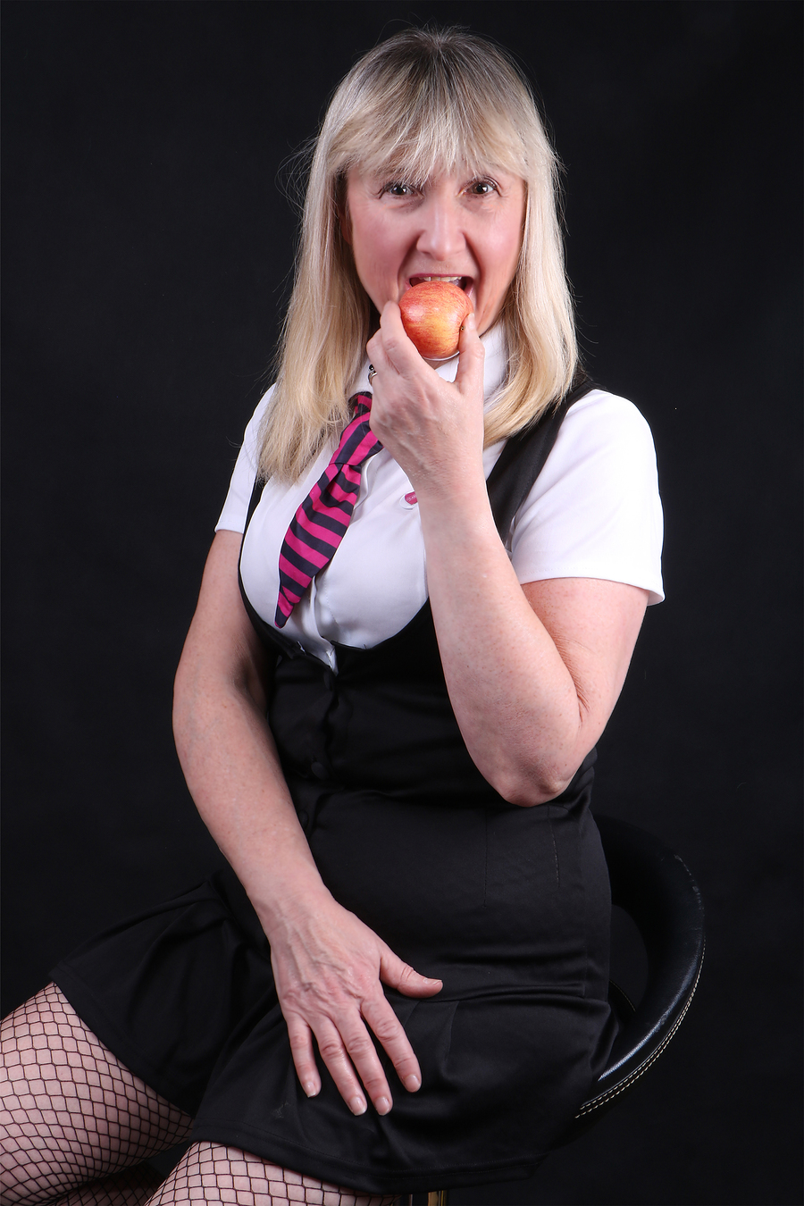 Apple for me then as teacher didn't want it / Photography by GTB Photography, Model Lady Patricia, Makeup by Lady Patricia, Taken at GTB Photography / Uploaded 27th April 2019 @ 08:04 PM
