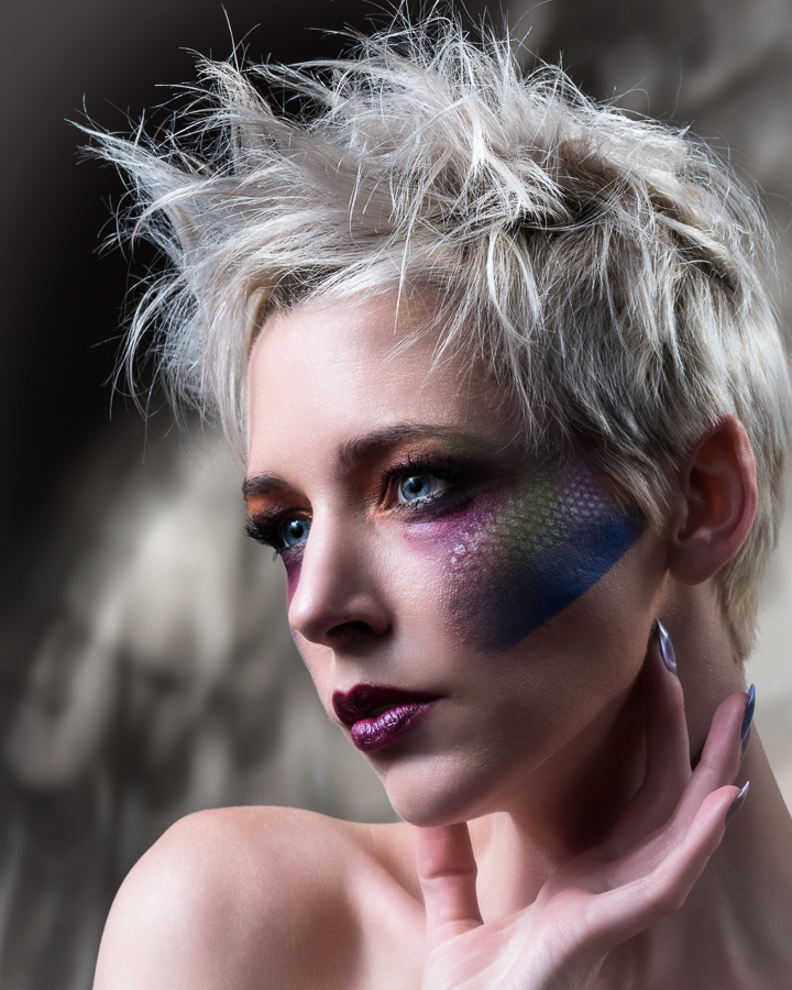 Striking Colour / Photography by Jay Wilson, Model Amie Boulton, Makeup by Beautywithin, Taken at Studio58 Bristol / Uploaded 10th March 2019 @ 12:15 PM
