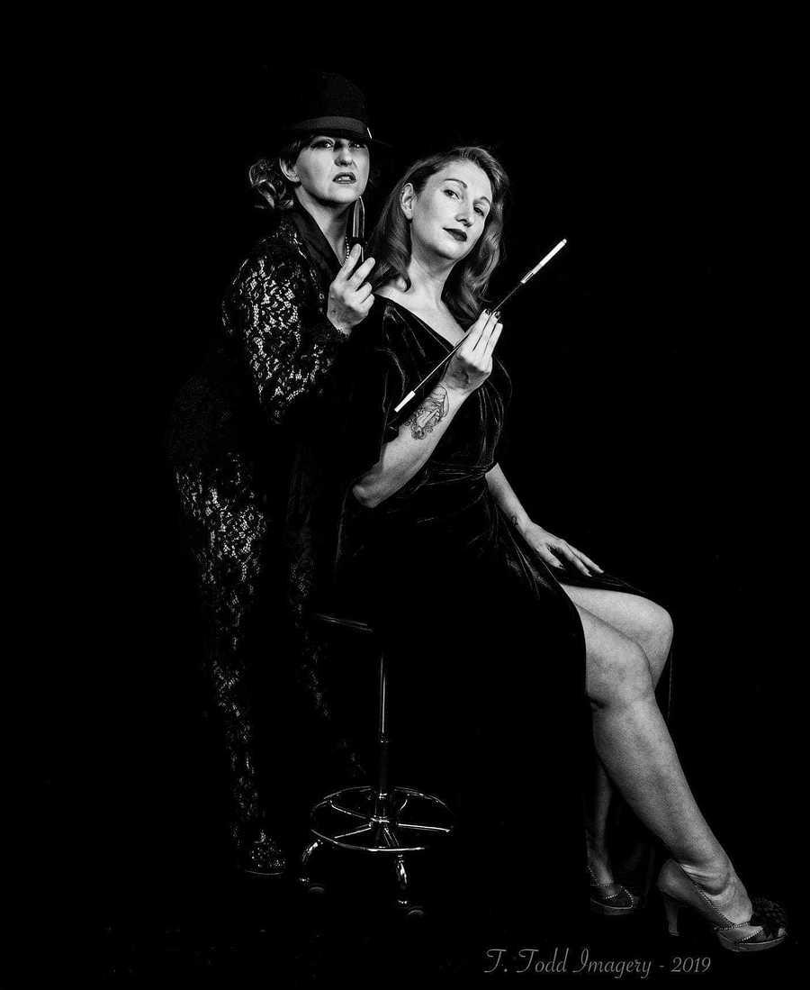 Models Miss Kittie Redfire, Models Miss Tiger Rose, Taken at Studio38Birkenhead / Uploaded 11th June 2019 @ 04:50 PM