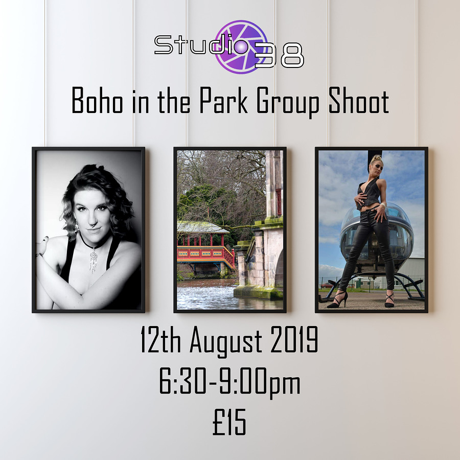 Boho in the Park Group Shoot £15 / Post processing by PD, Taken at Studio38Birkenhead / Uploaded 6th August 2019 @ 04:03 PM