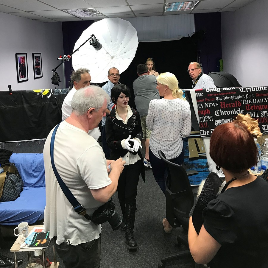One of our monthly networking shoots / Photography by PD, Taken at Studio38Birkenhead / Uploaded 23rd August 2019 @ 11:35 AM