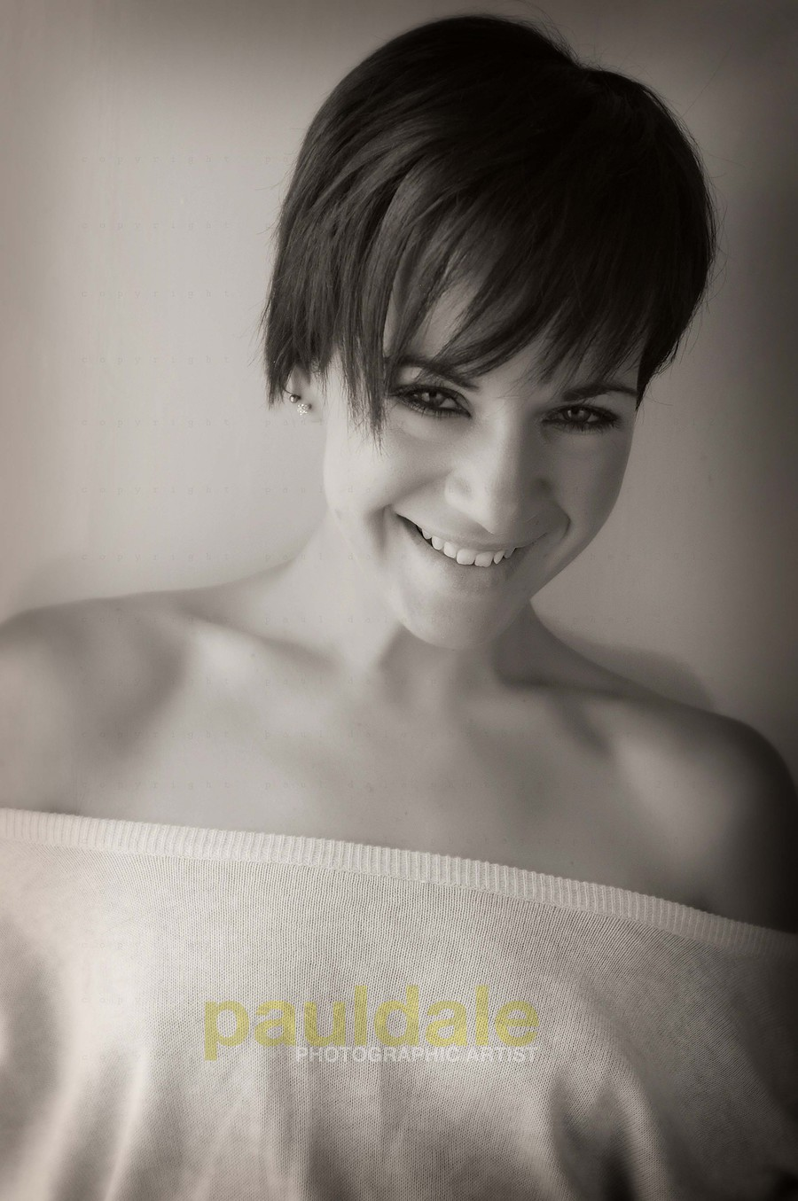 Smile :) / Photography by Paul Dale, Model Ninabean / Uploaded 14th July 2014 @ 07:44 AM