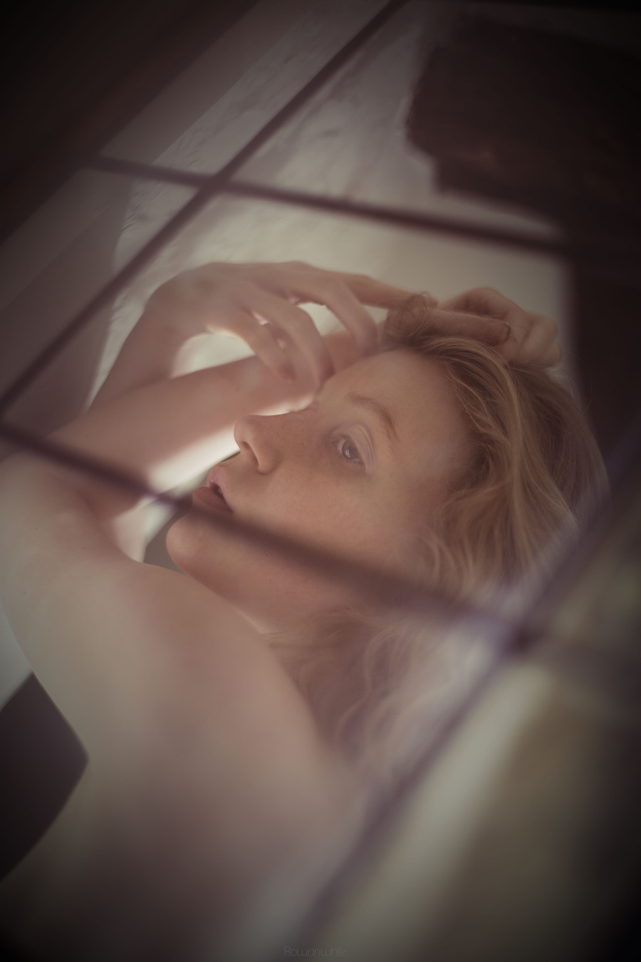 Through the Glass Door / Photography by Rowan While, Model Lulu Lockhart / Uploaded 25th August 2013 @ 10:55 PM