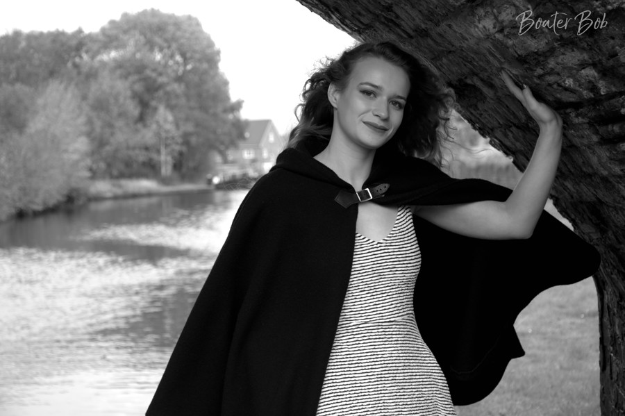 Kate's cape / Photography by Boater Bob, Model KateW / Uploaded 30th June 2020 @ 09:58 PM