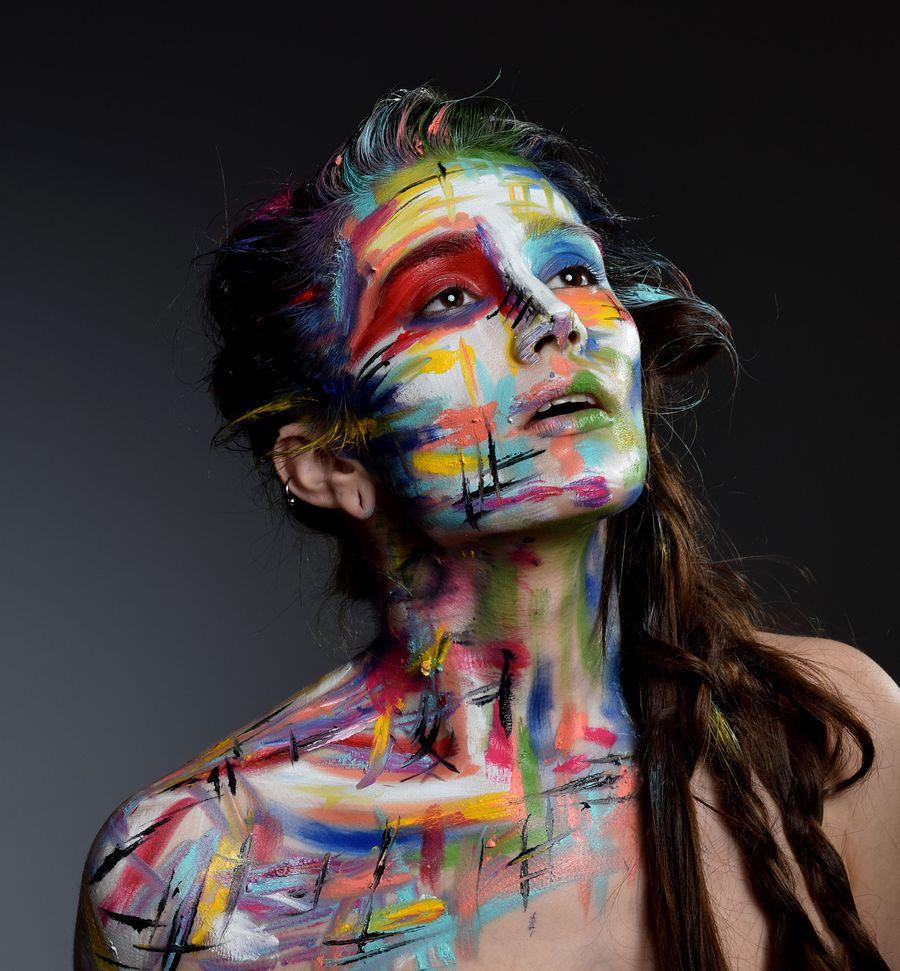 the artist ...  / Photography by pierangela manzetti, Makeup by pierangela manzetti, Taken at ASE Studio / Uploaded 1st February 2015 @ 08:51 AM