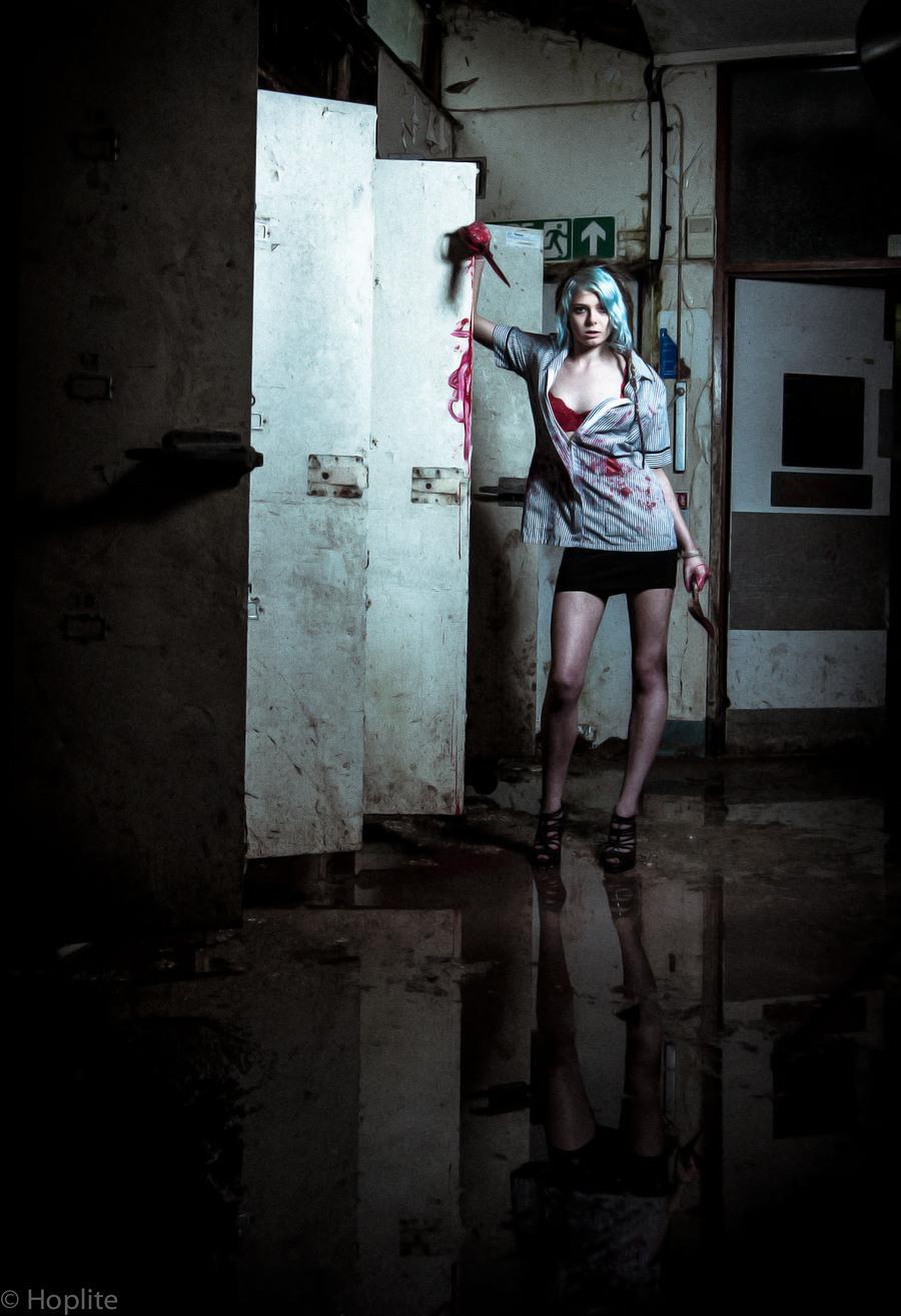 Psycho Killer Nurse / Model Zara-Rose / Uploaded 23rd May 2020 @ 04:51 PM