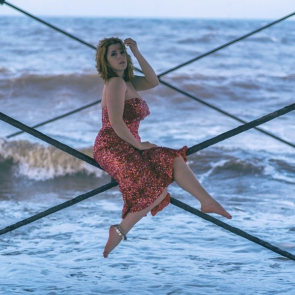 At Skegness pier / Photography by P S Photography, Model KatieModel / Uploaded 7th April 2019 @ 09:08 AM