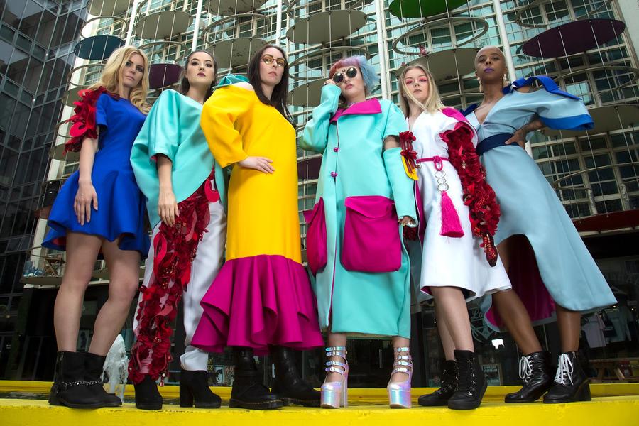 Photography by Stunderhill, Models Astou, Models Ellen, Models Emma Louise Scarlett, Designer FiiF Clothing Designer / Uploaded 2nd June 2019 @ 02:59 PM