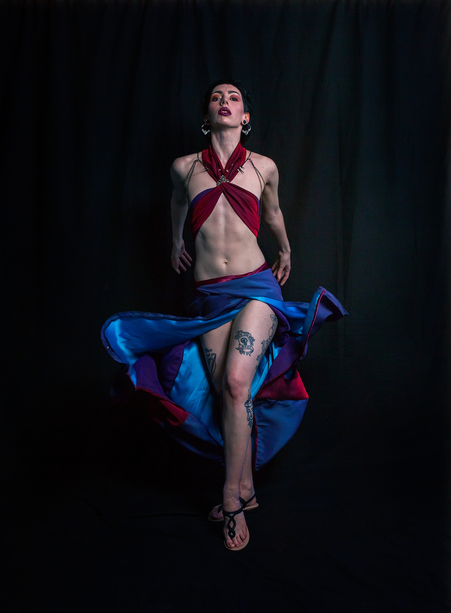 Salome's Dance / Photography by Julene Evans, Post processing by Julene Evans, Stylist Altered Ego, Designer Altered Ego / Uploaded 17th May 2019 @ 11:57 AM