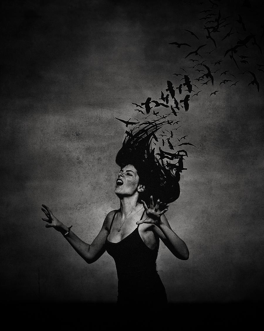Scream in Silence / Photography by DGS, Model Model_bowauf / Uploaded 21st September 2019 @ 04:57 PM
