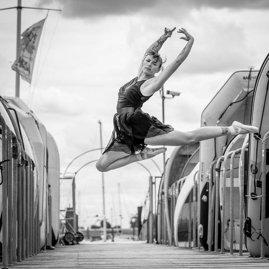 Leap of Faith / Photography by EastCoastWest, Model HT / Uploaded 22nd July 2019 @ 06:42 AM