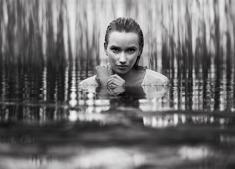 Lucy in the water / Photography by Silverlight, Model Lucie Klimova / Uploaded 17th April 2013 @ 03:10 PM