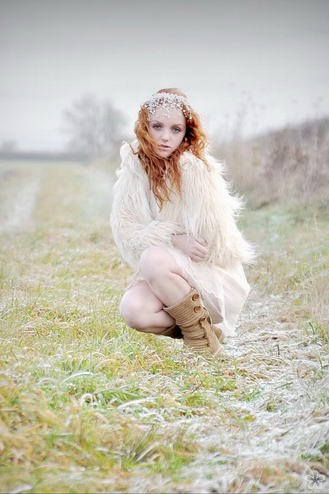 Holly in the frost / Photography by Karen (KK), Model Ivory Flame / Uploaded 16th September 2011 @ 08:43 PM