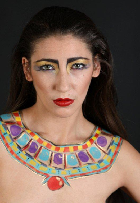 Bink nude Egyptian make up by Tracy Wood  (Kane) / Photography by John H, Model Madame Bink / Uploaded 2nd October 2012 @ 07:04 AM
