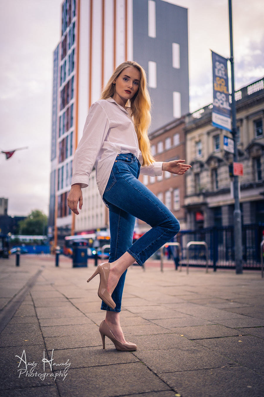 City Girl / Photography by Andy Hornby, Model Saffron Whyton / Uploaded 14th October 2021 @ 12:31 PM