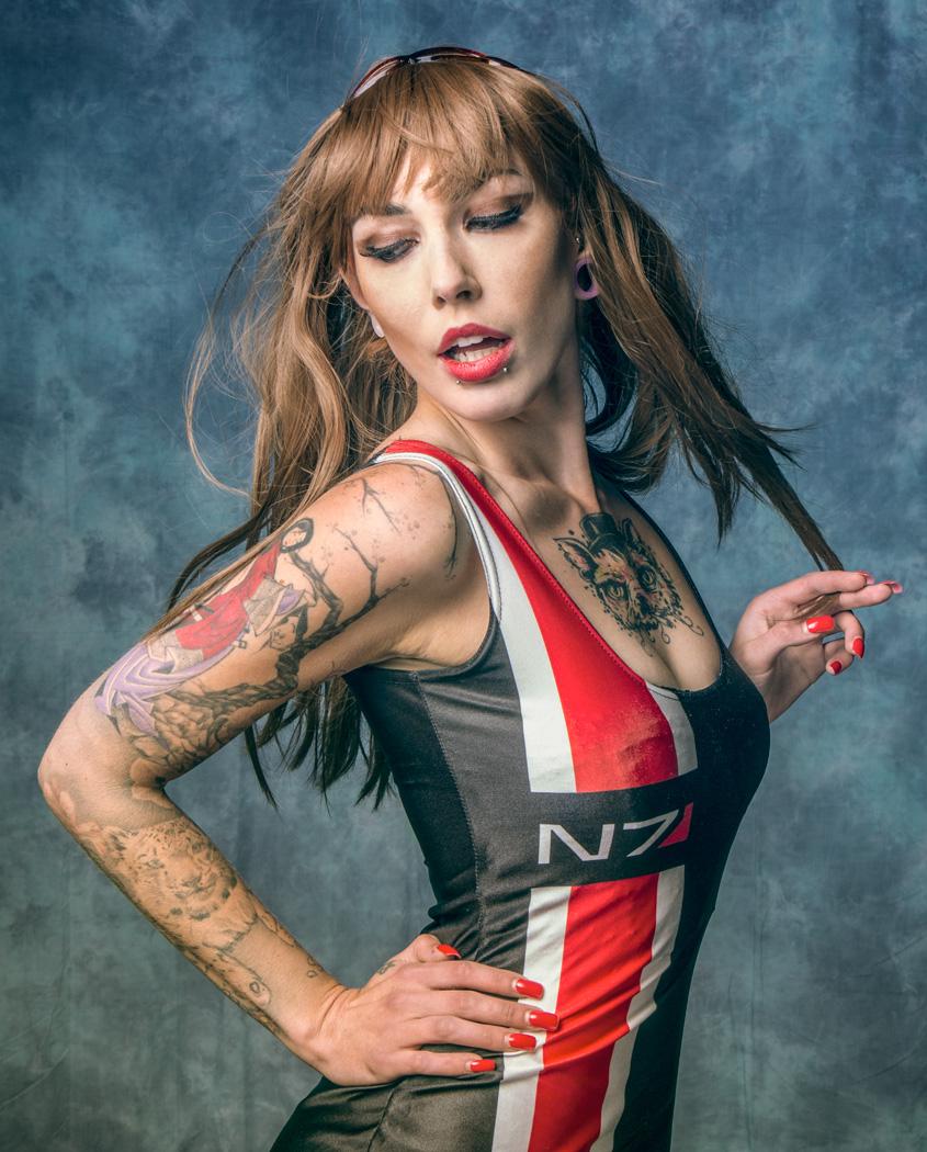 Vicki  / Photography by Matthew Jones, Model VickiVonHelsing / Uploaded 9th August 2015 @ 08:34 PM