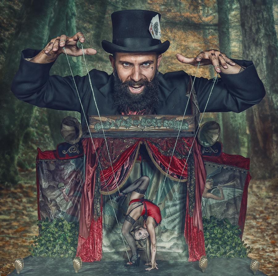 Puppet Master / Photography by Matthew Jones, Model Jonnyc / Uploaded 25th August 2014 @ 08:19 PM