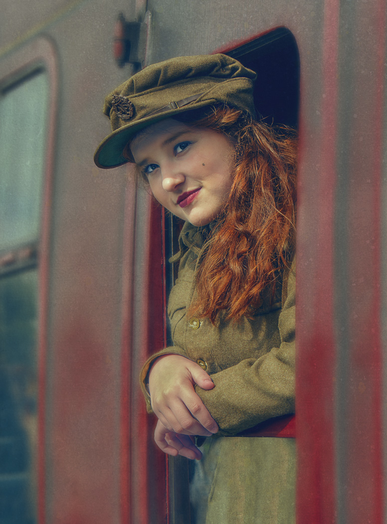 Girl on a Train / Photography by Matthew Jones / Uploaded 5th January 2015 @ 06:44 AM