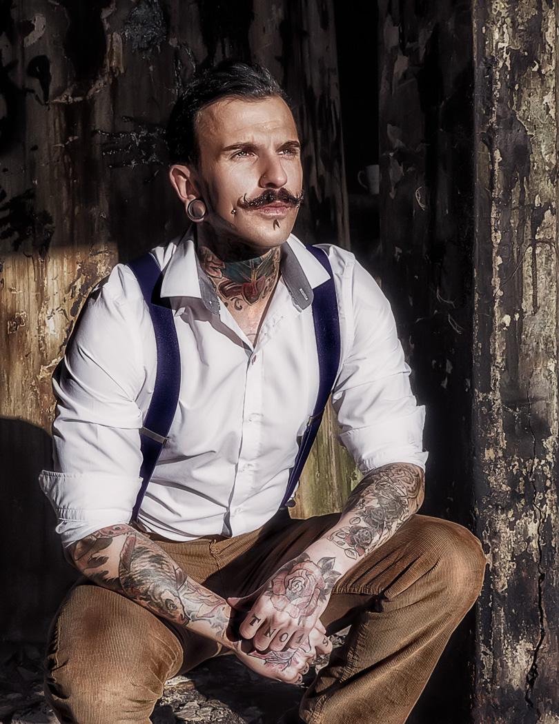 The Thinker / Photography by Matthew Jones, Model Jonnyc / Uploaded 30th April 2014 @ 06:43 AM