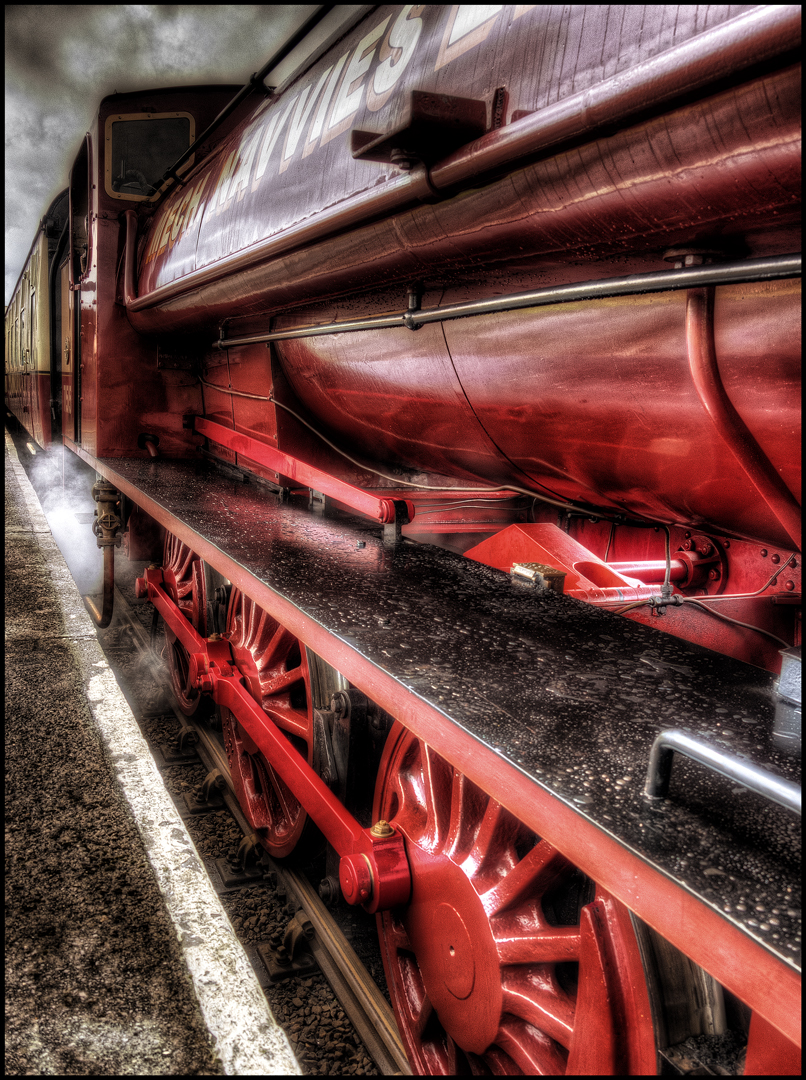 The Train / Photography by Matthew Jones / Uploaded 11th January 2015 @ 09:53 AM