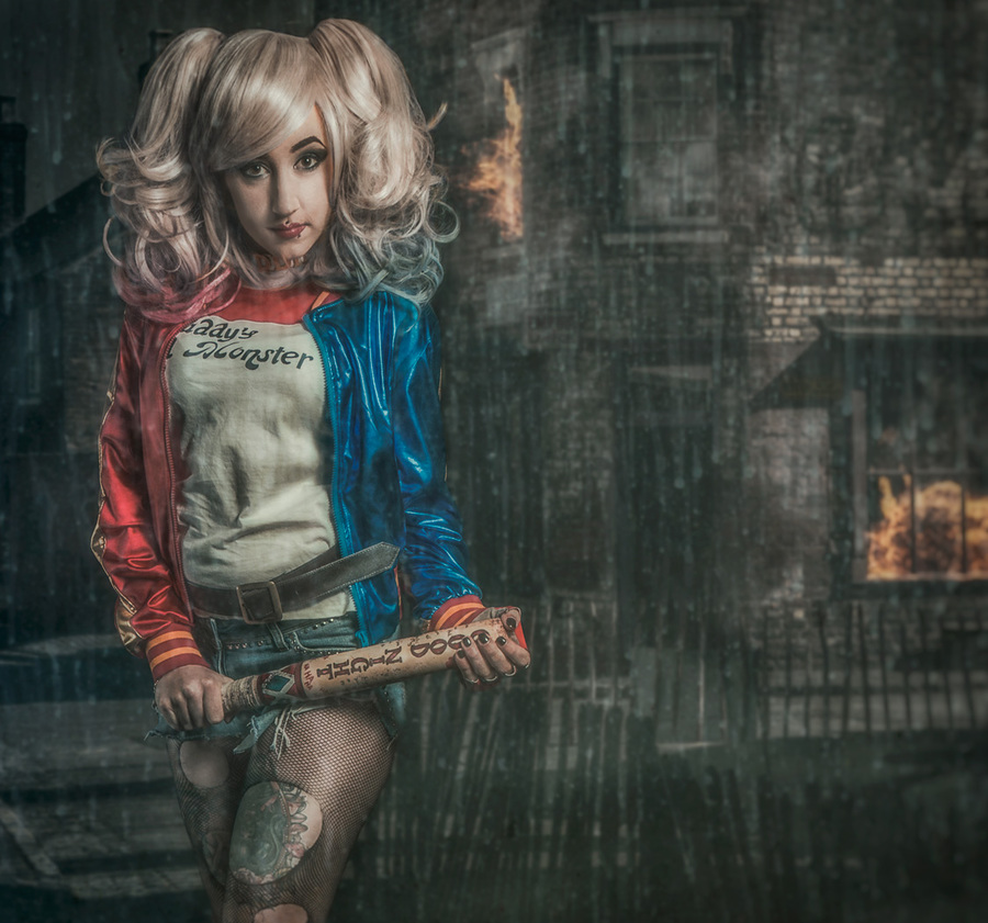 Harley Quinn - daddy's lil monster / Photography by Matthew Jones / Uploaded 11th January 2016 @ 06:55 PM