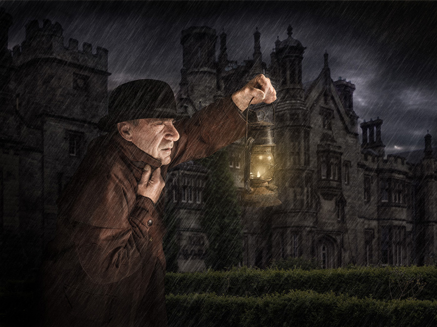 Mystery at manor house / Photography by Matthew Jones / Uploaded 24th October 2013 @ 07:34 PM