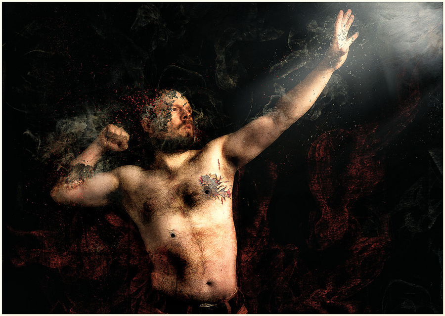 Heaven & Hell / Photography by Matthew Jones, Model Matthew Jones / Uploaded 18th May 2013 @ 11:26 AM