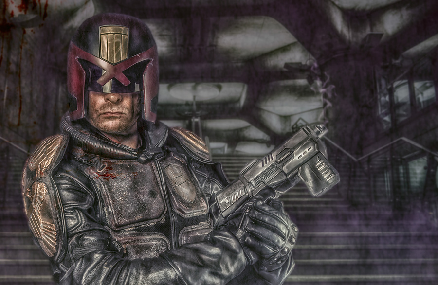 Dredd / Photography by Matthew Jones, Model Dave Purcell / Uploaded 2nd June 2015 @ 08:36 PM