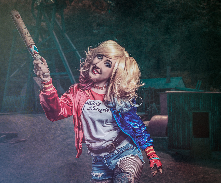 Harley Quinn - BANZAI! / Photography by Matthew Jones / Uploaded 14th January 2016 @ 07:34 PM
