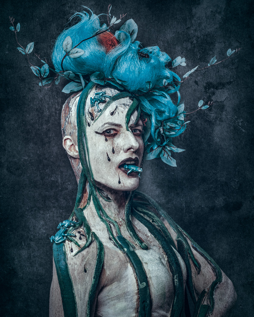 Affliction / Photography by Matthew Jones, Model Ana-Ray, Makeup by honeybea / Uploaded 8th October 2015 @ 07:40 PM