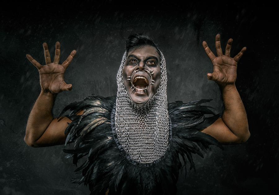 Abyssus abyssum invocat / Photography by Matthew Jones, Model Raki, Makeup by Georgina Thomas Makeup Artist / Uploaded 9th April 2016 @ 08:18 AM