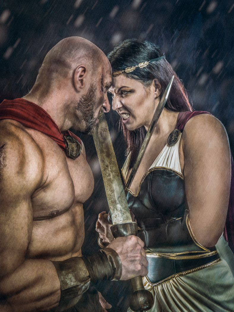 The Queen of Sparta / Photography by Matthew Jones / Uploaded 25th April 2016 @ 06:50 PM