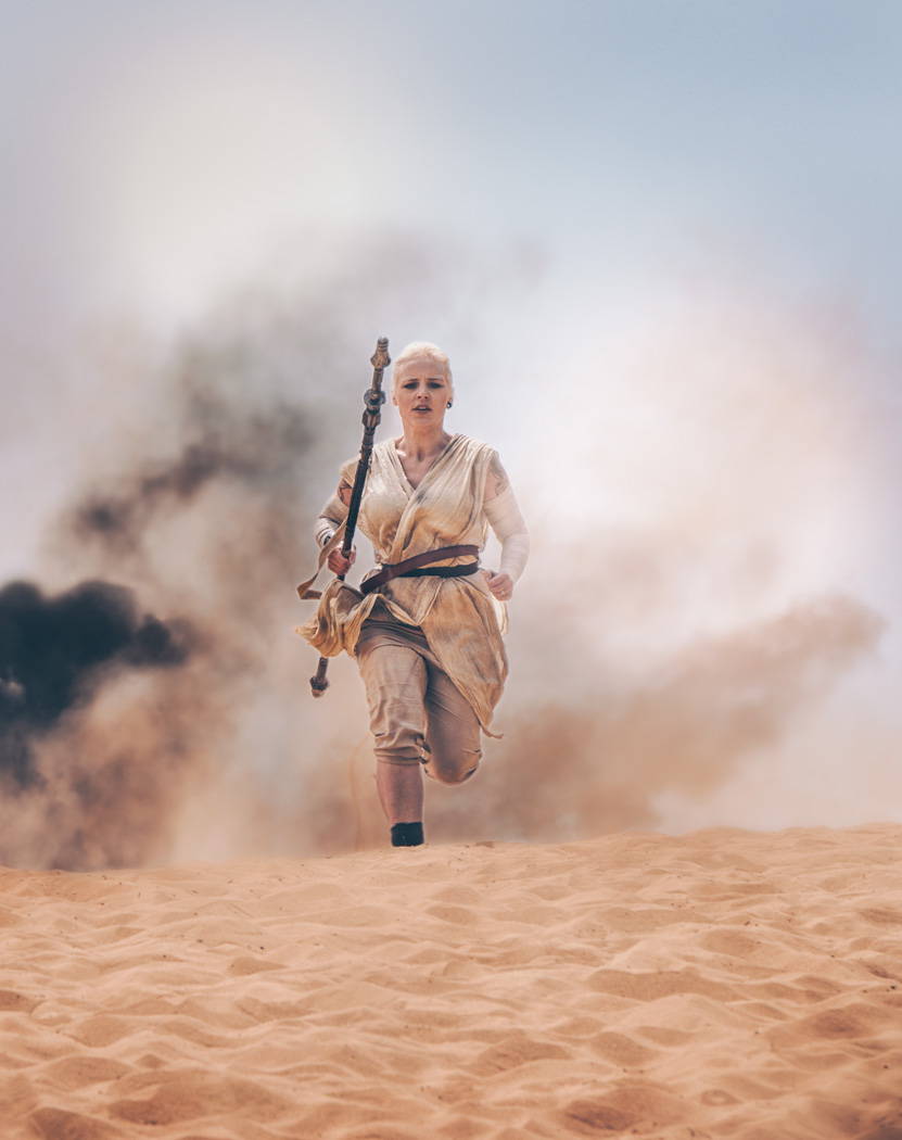 Rey: Star Wars Episode VII The Force Awakens / Photography by Matthew Jones / Uploaded 5th June 2016 @ 05:53 PM
