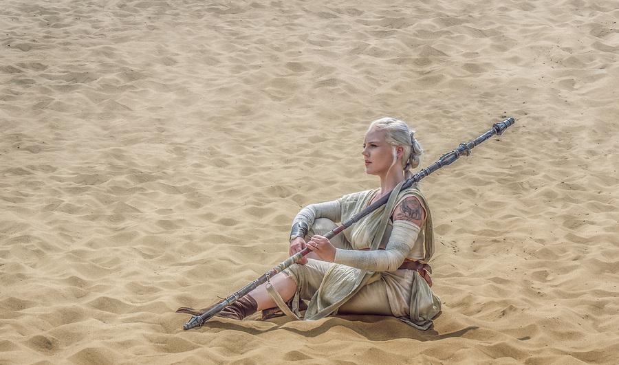 Rey: Star Wars Episode VII The Force Awakens / Photography by Matthew Jones / Uploaded 6th June 2016 @ 05:56 PM