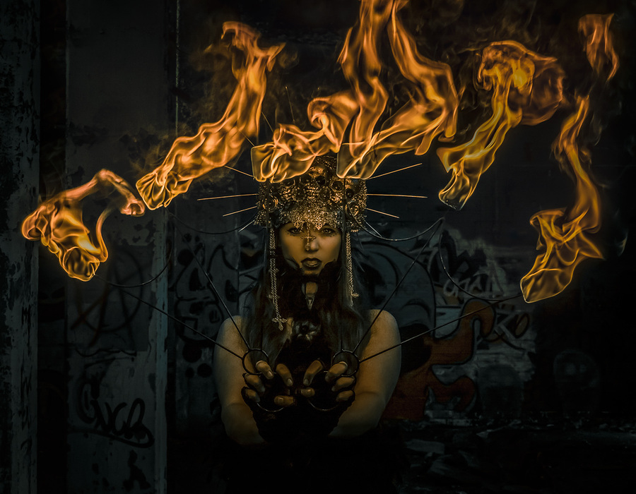 Keeper of the flames / Photography by Matthew Jones / Uploaded 26th July 2016 @ 05:22 PM