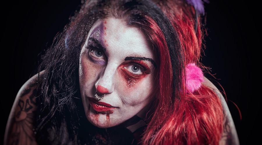 Just a Clown / Photography by Matthew Jones / Uploaded 13th October 2016 @ 08:47 PM
