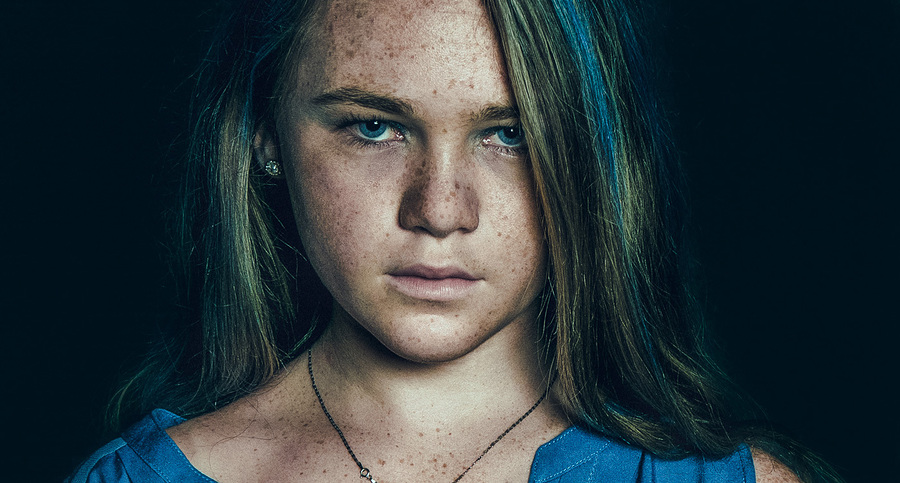 Blue Girl / Photography by Matthew Jones / Uploaded 19th October 2016 @ 07:37 PM