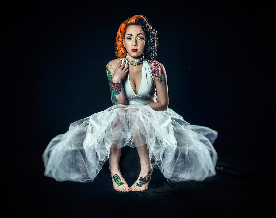 White Dress / Photography by Matthew Jones, Model Ashleigh Probert / Uploaded 20th October 2016 @ 08:39 PM