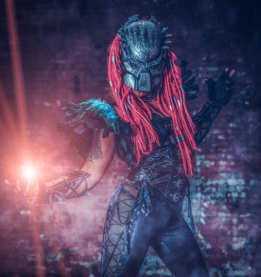 Predator / Photography by Matthew Jones, Model Ruby Derriere / Uploaded 5th December 2017 @ 10:51 PM