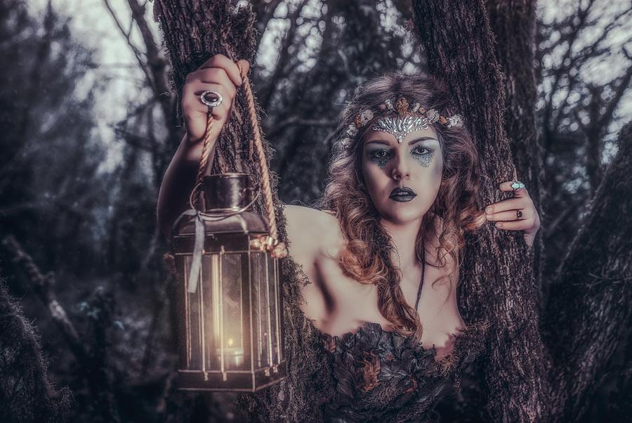 Faerie Light / Photography by Matthew Jones, Model KimTheHumann, Makeup by velvet rose  MUA, Hair styling by velvet rose  MUA / Uploaded 28th March 2018 @ 09:03 PM