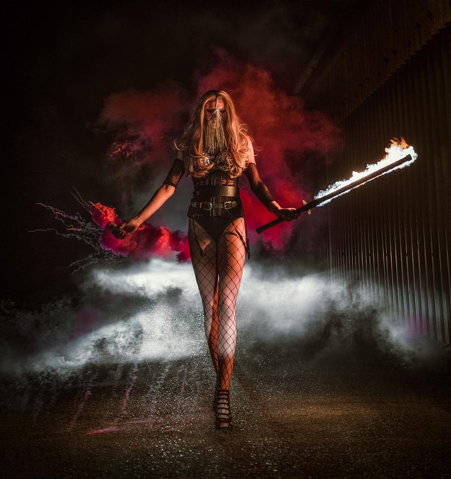 Raising Hell / Photography by Matthew Jones / Uploaded 15th April 2018 @ 07:22 PM