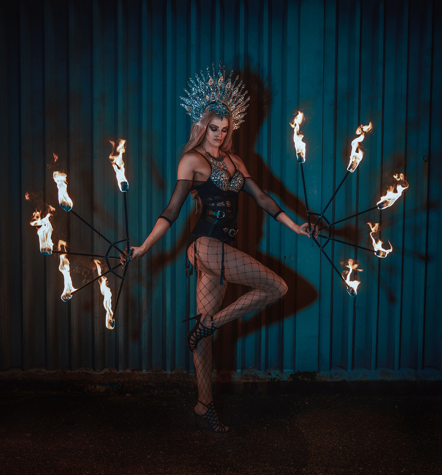 Flame Queen / Photography by Matthew Jones / Uploaded 26th June 2018 @ 08:50 PM